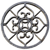 Round metal ornament Royalty Free Stock Images