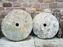 Round Mill Stone Stock Photo
