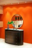 Round mirror Royalty Free Stock Photo