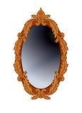 Round mirror. Royalty Free Stock Image