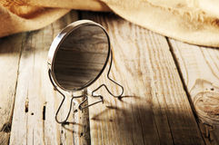 Round mirror Stock Photos