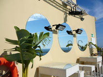Round Mirrors Royalty Free Stock Photography