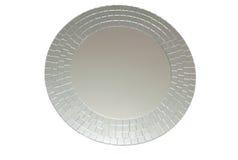 Round modern mirror Stock Images