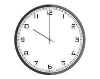 Round Modern Office Clock Royalty Free Stock Images