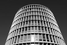 Round modernistic building Stock Photo
