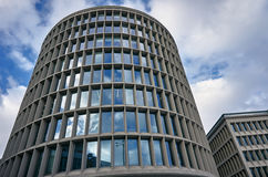 Round modernistic building Royalty Free Stock Photos