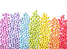 Round multicolor candies Royalty Free Stock Photography