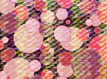 Round multicolored abstract square geometry background. Round multicolored abstract circle geometry vintage grunge paper texture background, textured frame Royalty Free Stock Images