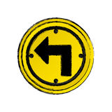round notices sign icon Stock Photography