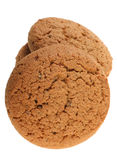 Round oat cookie Royalty Free Stock Photos