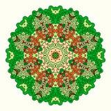 Round octagonal ornament Royalty Free Stock Photo