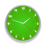 Round office clock Stock Image