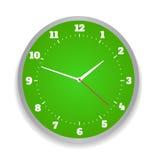 Round office clock Stock Image