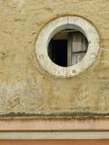 Round okno Fotografia Stock