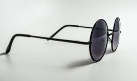 Round okulary przeciwsłoneczni Obrazy Stock