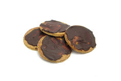 Round organic cookies Stock Photo