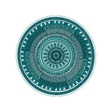 Round ornamend mandala wzór Obraz Stock