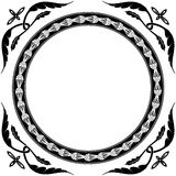 Round ornament Royalty Free Stock Image