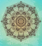 Round ornament background Royalty Free Stock Images
