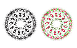 Round ornament Stock Images
