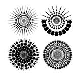 Round Ornament vector illustration