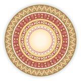 Round ornament. Stock Photos
