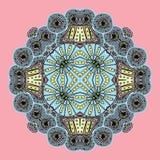 Geometric background / Circle ornament. Round ornament / Geometric circle ornament Royalty Free Stock Photo