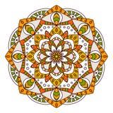 Round Ornament/mandala element dekoracyjny Fotografia Stock
