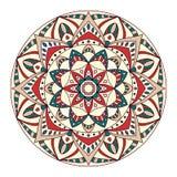 Round Ornament/mandala element dekoracyjny Zdjęcia Royalty Free