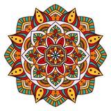 Round Ornament/mandala element dekoracyjny Obraz Stock