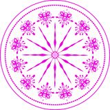 Round Ornament Pattern Royalty Free Stock Photos