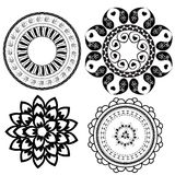Round Ornament Pattern brush Royalty Free Stock Photography