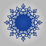 Round Ornament Pattern. Royalty Free Stock Images