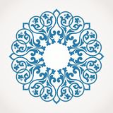 Round Ornament Pattern. Royalty Free Stock Photography
