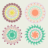 Round ornament pattern Stock Photography