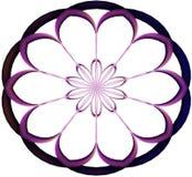 Dark Pink Round Vector. Round Ornament Pattern  image, Pink Round Vector, Pink Pattern Stock Photos