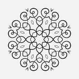Round Ornament Pattern vector illustration