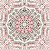 Round ornamental circle lace background Stock Photography