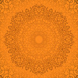 Round Ornamental Geometric Doily Pattern Royalty Free Stock Images