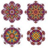Round ornaments, patterns and elements.Mandala background Royalty Free Stock Photo