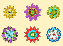 Round ornaments. Stock Image