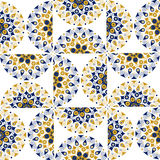 Round ornate background pattern Stock Images