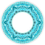 Round ornate border. Stock Photography