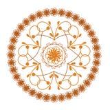 Round ornate pattern Royalty Free Stock Photography
