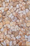 Round and oval stones in cement texture. Texture from round and oval stones in cement background royalty free stock photography