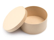 Round paper box Stock Images