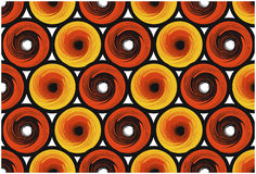Round pattern. Colour round pattern in Royalty Free Stock Image