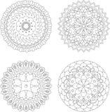 Round pattern Stock Photos