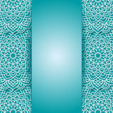 Round pattern in . Royalty Free Stock Image