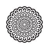 Round pattern in oriental style Stock Photos